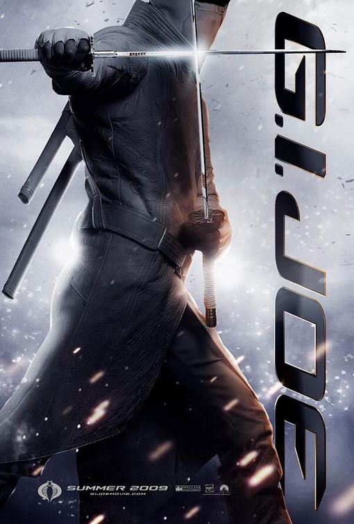 GI Joe Storm Shadow movie poster