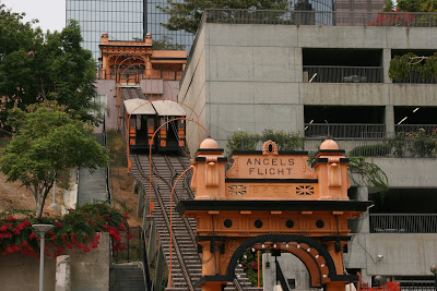 The second Angels Flight in Downtown LA