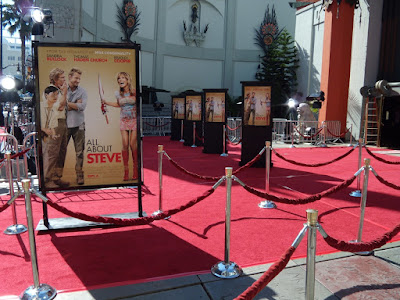 All About Steve premiere red carpet