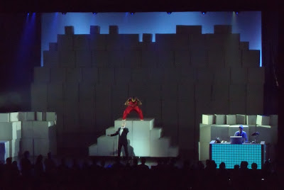 Pet Shop Boys perform in Los Angeles