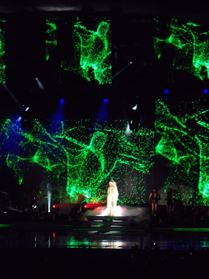 Kylie Minogue Hollywood Bowl lightshow