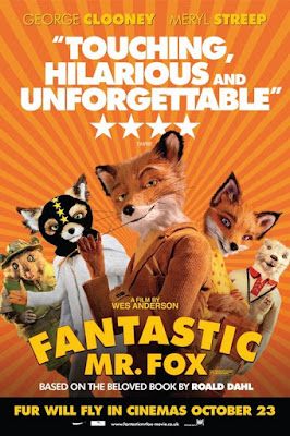 Fantastic Mr Fox film poster