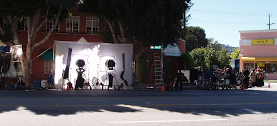 TV film crew Toluca Lake