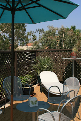 WEHO roof deck patio