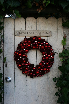 Live the good life garland