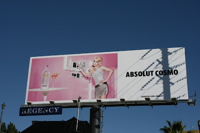 Absolut Vodka Cosmo billboard