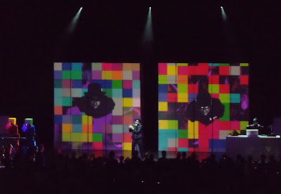 Pet Shop Boys concert at Greek Theatre Sep 09