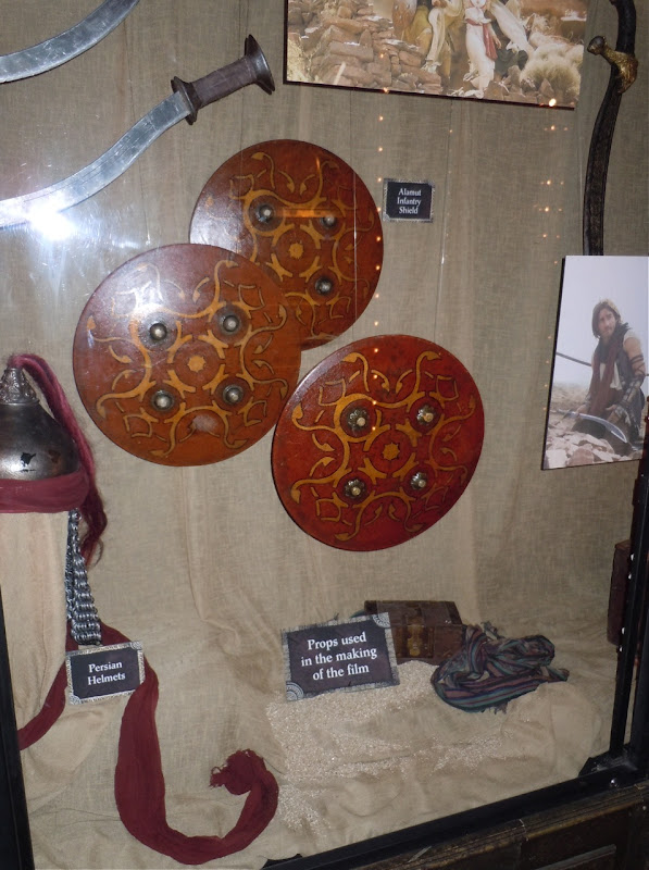 Actual Prince of Persia film props