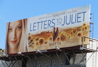 Letters to Juliet movie billboard