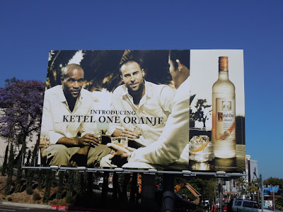 Ketel One Oranje vodka billboard