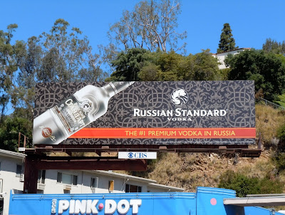 Russian Standard vodka billboard