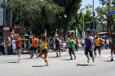 Orange County Dancers WEHO Pride 2010