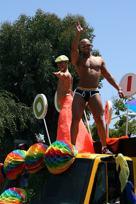 West Hollywood Pride Parade beefcake 2010