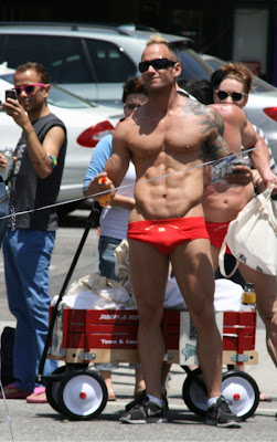 Hot guy WEHO Gay Pride 2010