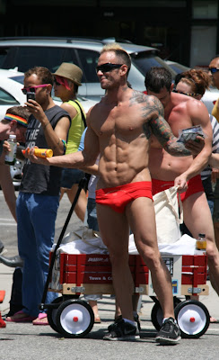 Perfect abs and pecs WEHO Pride 2010