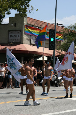 LA Gay Pride 2010 Abbey boys