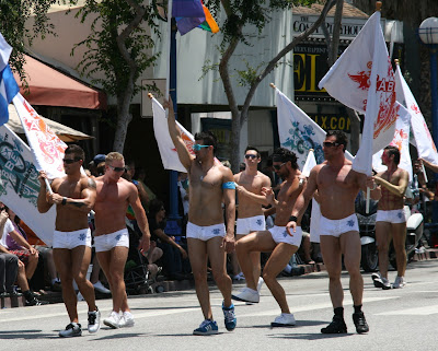 Hot WEHO Abbey guys Gay Pride 2010