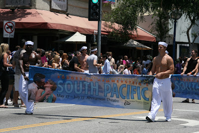 South Pacific Sailors LA Pride 2010
