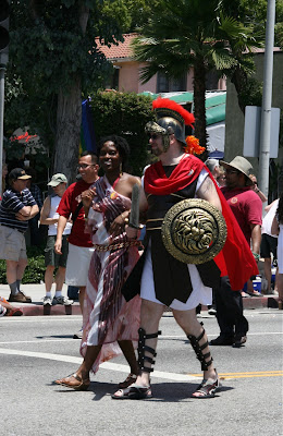 Roman Centurion Wet Hollywood Pride 2010