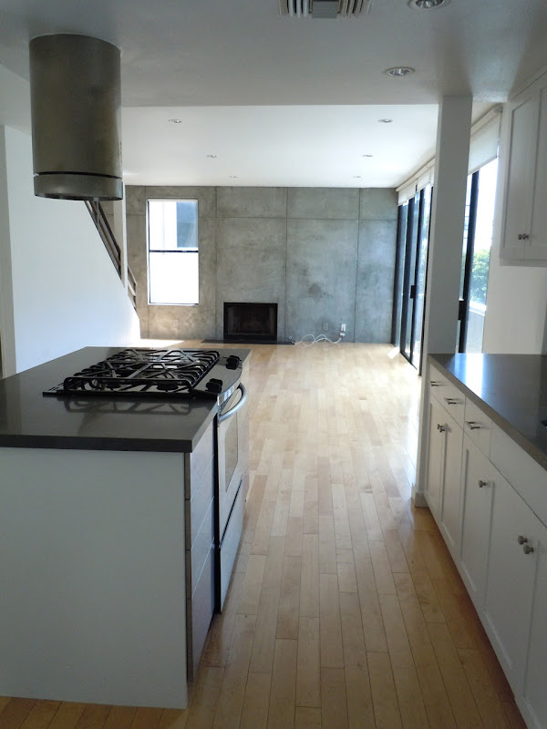Empty West Hollywood condo space