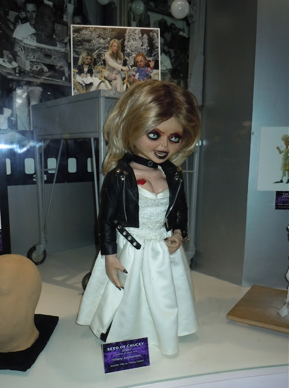 Seed of Chucky movie Tiffany animatronic