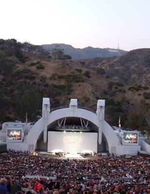 Singalong Grease Hollywood Bowl 2010