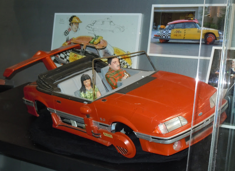 Back to the Future 2 miniature Mustang model