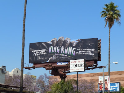 King Kong ride Universal Studios billboard