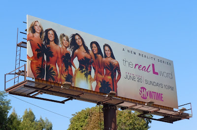 Real L Word TV billboard