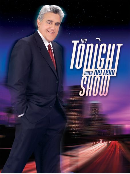 Jay Leno The Tonight Show promo poster