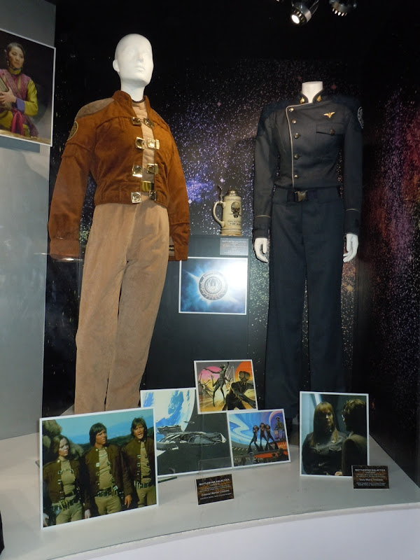 Battlestar Galactica costume exhibit