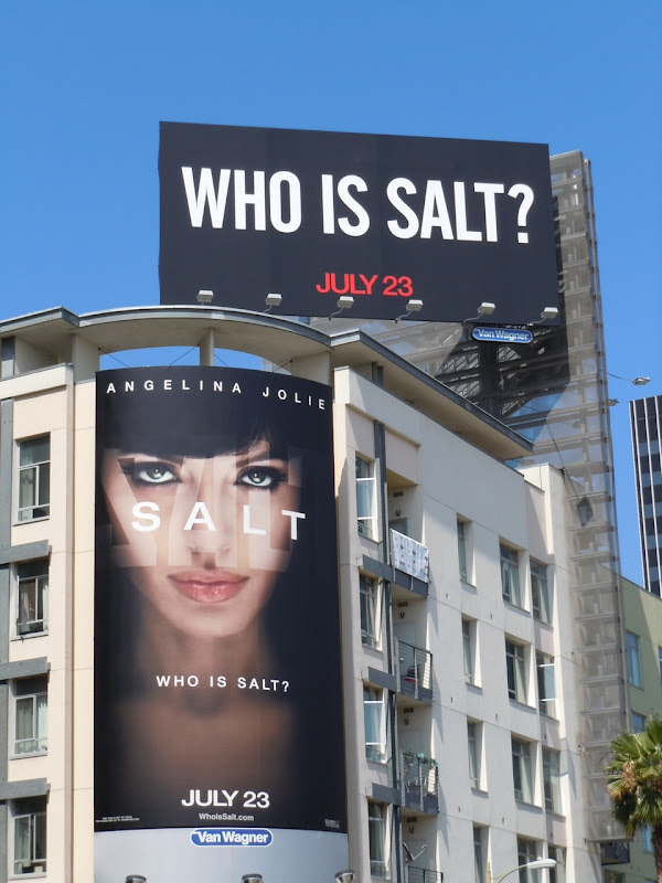 Who is Salt film billboards