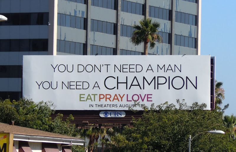 You Don't Need A Man billboard
