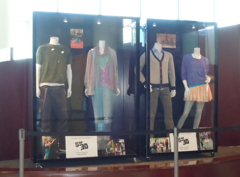 Step Up 3D film costume exhibit