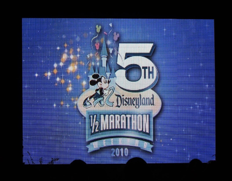 5th Disneyland Half Marathon 2010