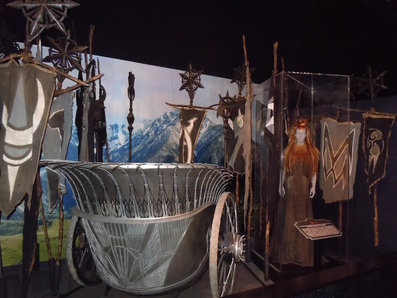 Narnia's White Witch costume and chariot