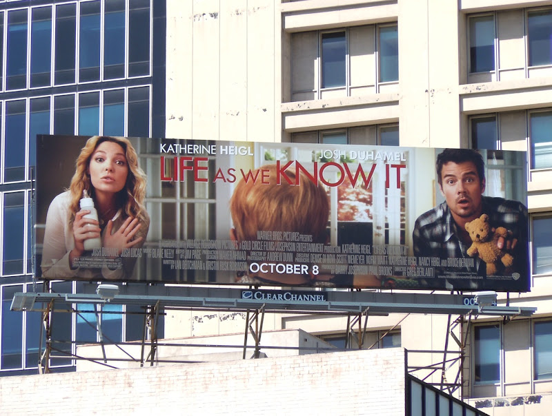 Life As We Know It film billboard