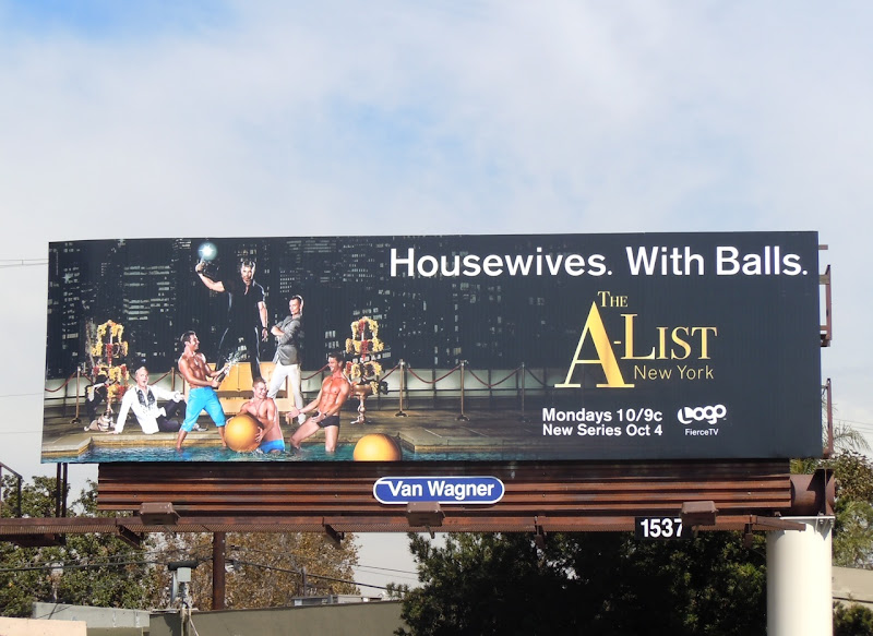 The A-List New York TV billboard