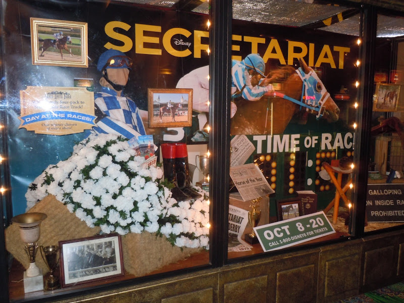 Secretariat movie display