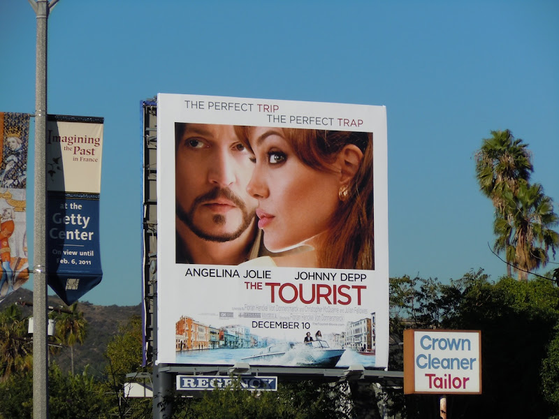 The Tourist film billboard