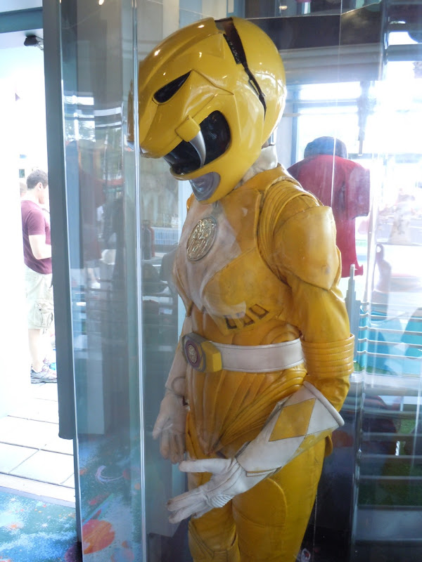 Power Rangers yellow movie outfit