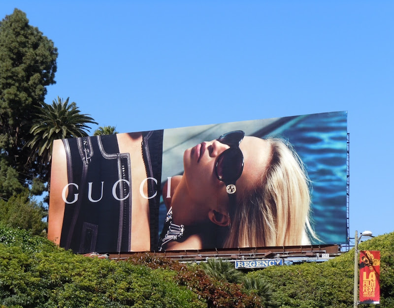 Gucci sunglasses May 2010 billboard