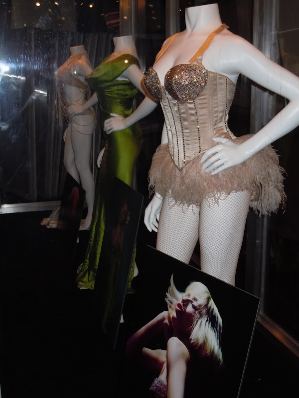 Christina Burlesque movie costumes