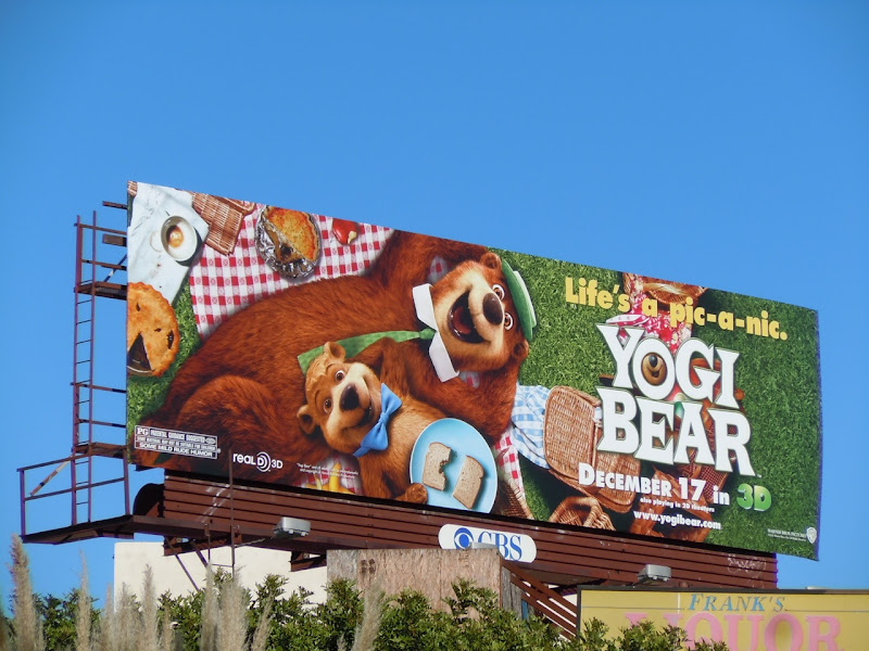 Yogi Bear pic-a-nic movie billboard
