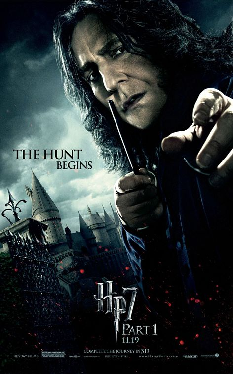 Snape Harry Potter 7 poster