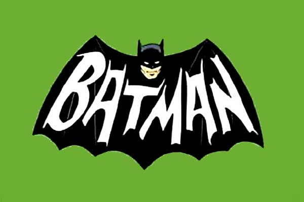 Batman 1960s TV logo