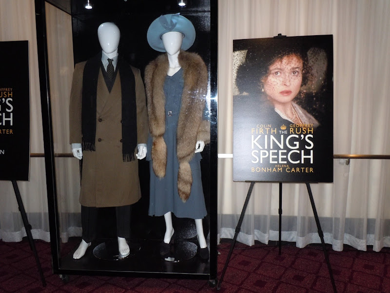 Original King's Speech movie costumes