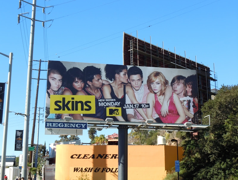 Skins MTV billboard