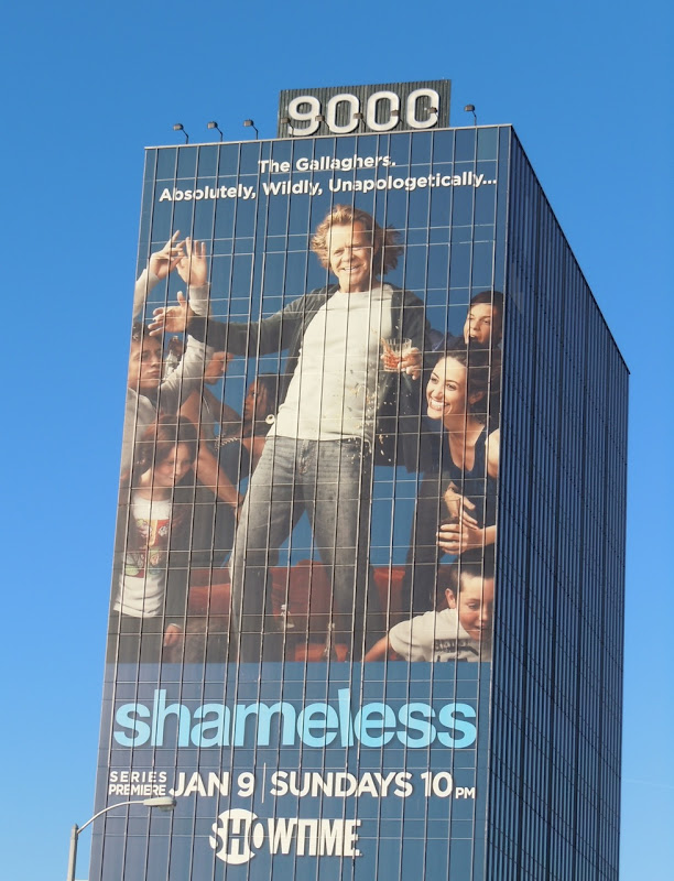 Shameless Showtime TV billboard