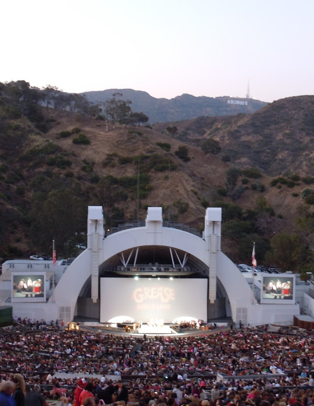 Singalong Grease Hollywood Bowl